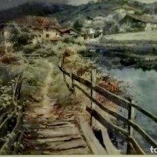 Art: CUADRO ELIAS GARRALDA MOLINO DE UGALDE. Lote 184162218