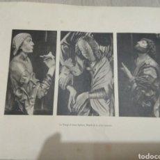 Arte: LA VIERTE ET DEUX APOSTRE. Lote 186171525