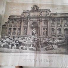 Arte: LAMINA ANTIGUA ROMA FINALES SIGLO XIX. Lote 187185671