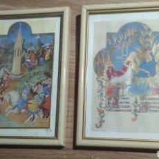 Arte: CUADROS ARABESCOS.. Lote 189704201