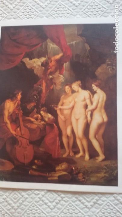 Arte: Lote 25 láminas de Arte-El Mundo- Grandes Genios (22), Los Tesoros Pabellón de España (3) - Foto 11 - 190092423