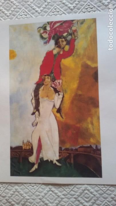 Arte: Lote 25 láminas de Arte-El Mundo- Grandes Genios (22), Los Tesoros Pabellón de España (3) - Foto 18 - 190092423