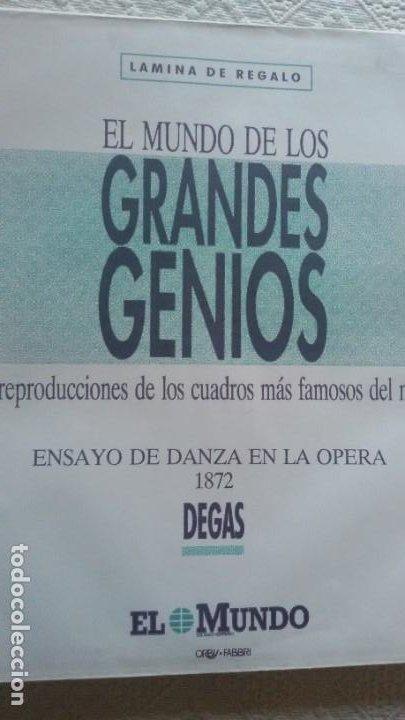 Arte: Lote 25 láminas de Arte-El Mundo- Grandes Genios (22), Los Tesoros Pabellón de España (3) - Foto 24 - 190092423