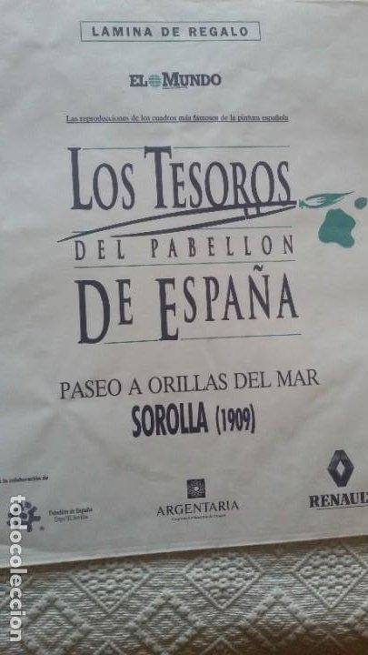 Arte: Lote 25 láminas de Arte-El Mundo- Grandes Genios (22), Los Tesoros Pabellón de España (3) - Foto 28 - 190092423