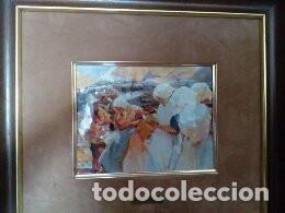 BONITO CUADRO LAMINA ENMARCADA (Arte - Láminas Antiguas)