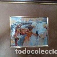 Arte: BONITO CUADRO LAMINA ENMARCADA. Lote 190914017