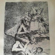 Art: LAMINA DUENDECILLOS DE FRANCISCO DE GOYA. Lote 191870698