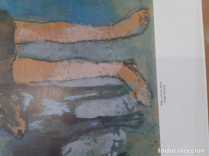 Arte: Lamina del cuadro niño con perro pablo picasso - Foto 2 - 193369628