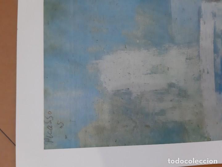 Arte: Lamina del cuadro niño con perro pablo picasso - Foto 3 - 193369628