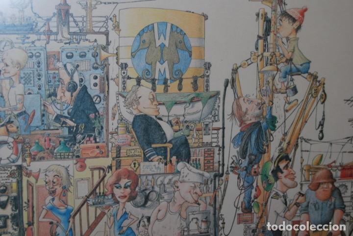 Arte: REPRODUCCIÓN OBRA ROGIER MEKEL - LA VIDA A BORDO DE UN BARCO - POSTER - THE TREASURE CHEST - HOLANDA - Foto 6 - 194226261