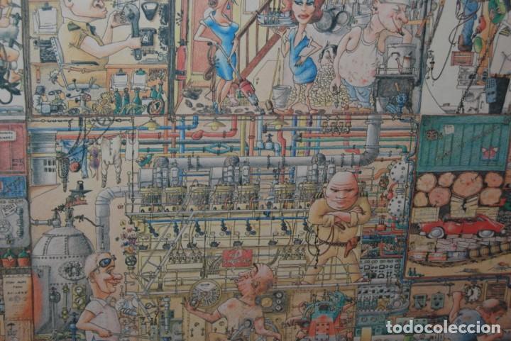 Arte: REPRODUCCIÓN OBRA ROGIER MEKEL - LA VIDA A BORDO DE UN BARCO - POSTER - THE TREASURE CHEST - HOLANDA - Foto 7 - 194226261