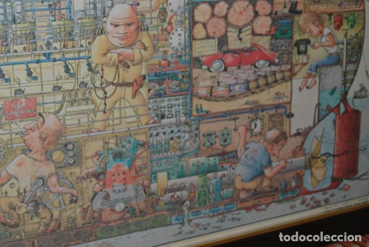 Arte: REPRODUCCIÓN OBRA ROGIER MEKEL - LA VIDA A BORDO DE UN BARCO - POSTER - THE TREASURE CHEST - HOLANDA - Foto 8 - 194226261