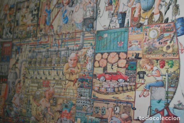 Arte: REPRODUCCIÓN OBRA ROGIER MEKEL - LA VIDA A BORDO DE UN BARCO - POSTER - THE TREASURE CHEST - HOLANDA - Foto 11 - 194226261