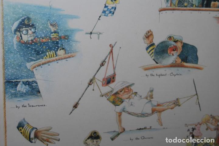 Arte: REPRODUCCIÓN OBRA ROGIER MEKEL - CAPITÁN DE BARCO - POSTER - THE TREASURE CHEST - HOLANDA - Foto 7 - 194226668