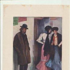 Arte: LÁMINA (20,5X28,5) COLECCIÓN BLANCO Y NEGRO. ¡QUÉ TIPO! DE C. FERNÁNDEZ ARDARÍN. Lote 194681928