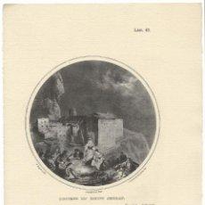 Arte: MONTSERRAT, COUVENT DU MONT SERRAT - C.LANGLOIS & CHAMBELLAN - IMP. E. ARDIT. Lote 194872278
