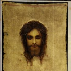 Arte: LÁMINA ANTIGUA * JESUS CHRISTUS * EDICIONES BARSAL (32 X 22 ). Lote 194982112