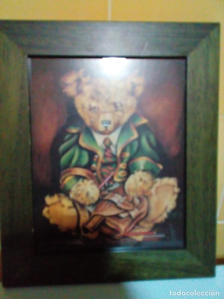 BONITO CUADRO INFANTIL-LAMINA ENMARCADA (Arte - Láminas Antiguas)