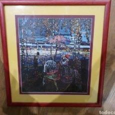 Arte: LAMINA ENMARCADA KANDINSKY. Lote 195140090