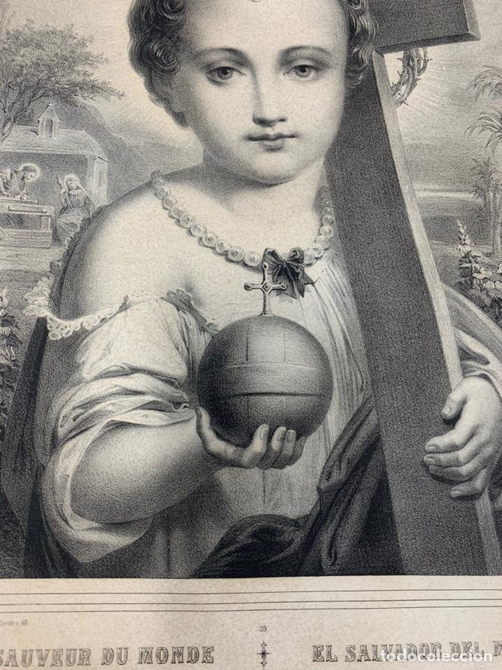 Arte: EL SALVADOR DEL MUNDO - Foto 6 - 195149028