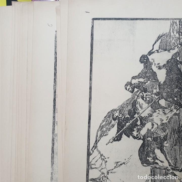 Arte: 32 ESTAMPAS - FRANCISCO DE GOYA - SUERTES Y ACTITUDES DEL ARTE DE LIDIAR CON LOS TOROS - VER FOTOS - Foto 2 - 195220720