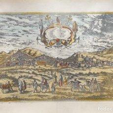 Arte: CIVITATES ORBIS TERRARUM. LAMINA DE GRANADA. Lote 195377292