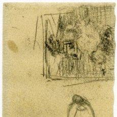 Arte: VINCENT VAN GOGH. VISTA DE MONTMARTRE. DIBUJO FACSÍMIL. ARTIKA 2015. Lote 195800641