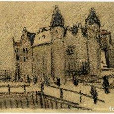 Arte: VINCENT VAN GOGH. VISTA DEL HERT STEEN. DIBUJO FACSÍMIL. ARTIKA 2015. Lote 195802758