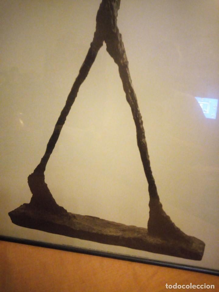 Arte: alberto giacometti el hombre que camina 1960 . foto sabine weiss 1999 - Foto 5 - 197156976