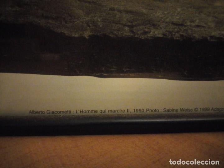 Arte: alberto giacometti el hombre que camina 1960 . foto sabine weiss 1999 - Foto 6 - 197156976