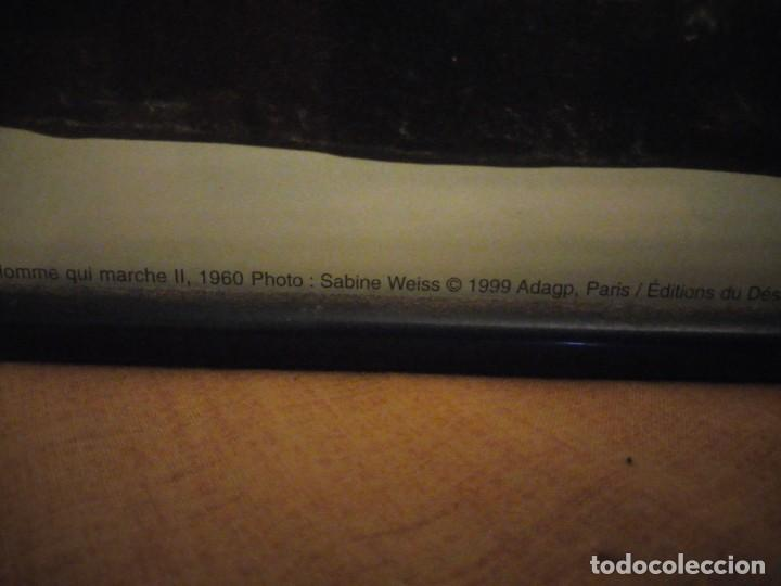 Arte: alberto giacometti el hombre que camina 1960 . foto sabine weiss 1999 - Foto 9 - 197156976