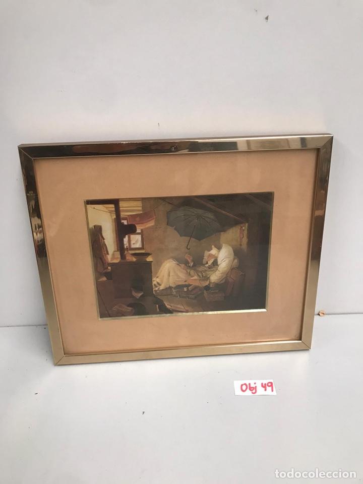 CUADRO LAMINA (Arte - Láminas Antiguas)