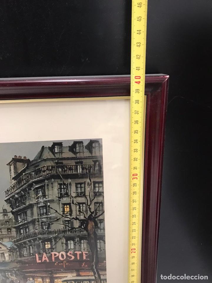 Arte: Cuadro lamina París - Foto 4 - 198215000