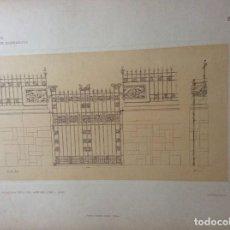 Arte: L´ARCHITETTURA DI GIUSEPPE SOMARUGA. MILANO - PALAZZINA DELL´ING. ANTONIO COMI, 1906. Lote 199123936