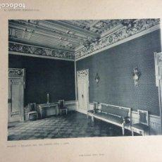 Arte: L´ARCHITETTURA DI GIUSEPPE SOMARUGA. MILANO - PALAZZO DEL SIG. PIETRO PIVA, 1905. Lote 199125577