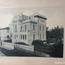 Arte: L´ARCHITETTURA DI GIUSEPPE SOMARUGA. ROMA - VILLA DEL SIG. GIOVANNI ALETTTI, 1897. Lote 199125877