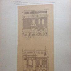 Arte: L´ARCHITETTURA DI GIUSEPPE SOMARUGA. ROMA - VILLA DEL SIG. GIOVANNI ALETTTI, 1897. Lote 199126090