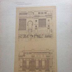 Arte: L´ARCHITETTURA DI GIUSEPPE SOMARUGA. ROMA - VILLA DEL SIG. GIOVANNI ALETTTI, 1897. Lote 199126395