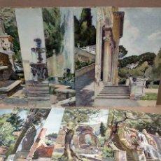 Arte: LES JARDINS DE ROME. BELLES AQUARELLES DE PIERRE VIGNAL - 1923. Lote 199462542