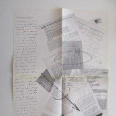 Arte: JORGE WAGENSBERG, LA NECESIDAD DEL AZAR, COLLAGE, 1986. Lote 199712360