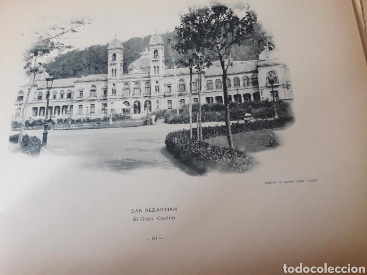 SAN SEBASTIÁN, EL GRAN CASINO, SIGLO XIX, FOTOTIPIA DE HAUSER Y MENET (Arte - Láminas Antiguas)