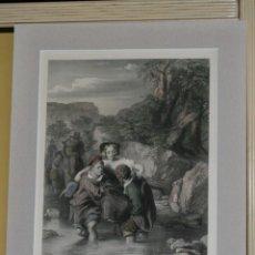 Arte: IMPRESIÓN ROMÁNTICA FINALES DEL SIGLO XIX. Lote 200172096