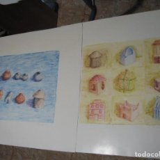 Arte: DOS LAMINAS DE M. SALMEAN. Lote 200238901