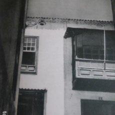 Arte: SANTA CRUZ DE TENERIFE UNA CALLE LAMINA HUECOGRABADO ANTIGUO. Lote 200244012