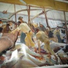 Arte: SOROLLA COLECCION HISPANIC SOCIETY OF AMERICA EXPOSICION EN BANCAJA VALENCIA PESCA ATUN. Lote 158863442