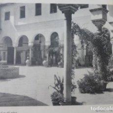 Arte: SEVILLA PATIO DE UN PALACIO CALOTIPO YERBURY 1926 23,5 X 32 CMTS. Lote 201027632