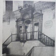 Arte: ALCALA DE HENARES MADRID UNIVERSIDAD PARANINFO CALOTIPO YERBURY 1926 23,5 X 32 CMTS . Lote 201098368