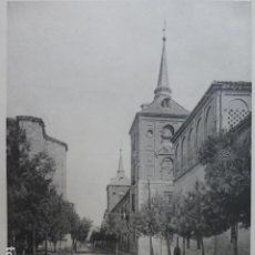 Arte: ALCALA DE HENARES MADRID PALACIO CALOTIPO YERBURY 1926 23,5 X 32 CMTS . Lote 201098563