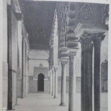 Arte: SEVILLA ALCAZAR REAL CALOTIPO YERBURY 1926 23,5 X 32 CMTS . Lote 201100826