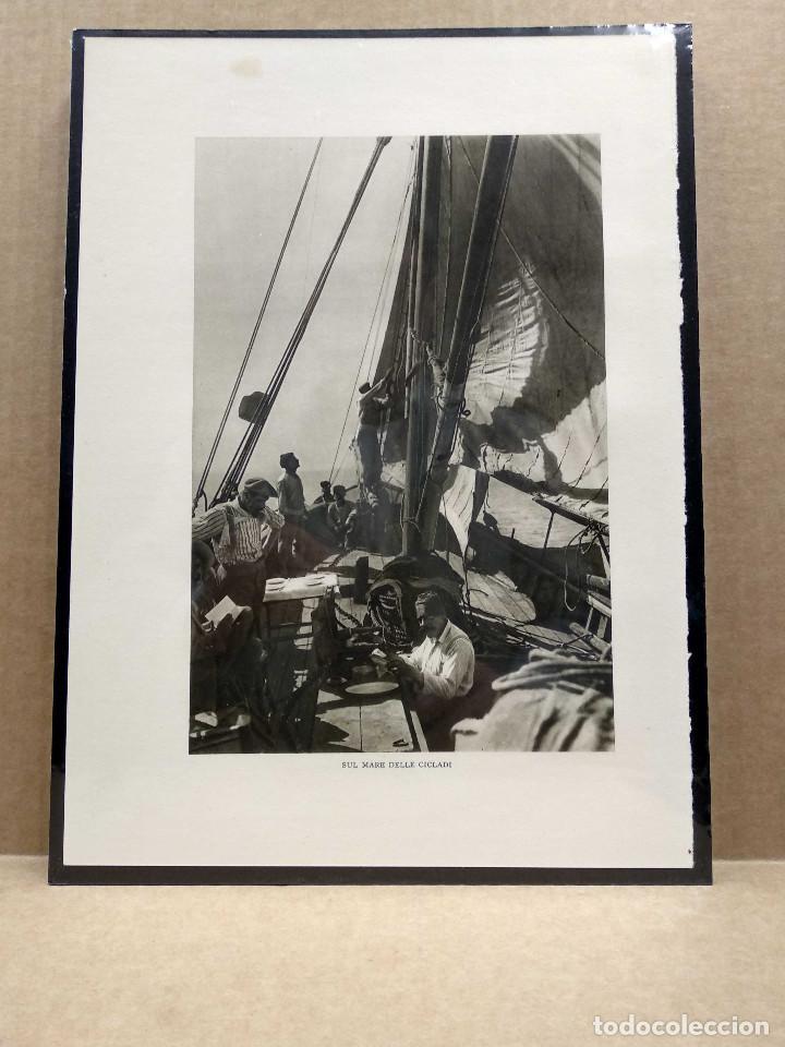 Arte: 6 Planchas fotograbado de Il mediterraneo de Orio Vergani 1930 - Foto 3 - 202338500